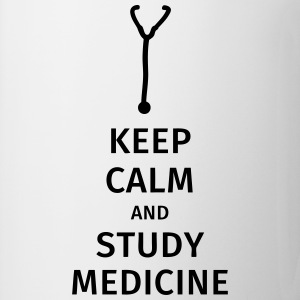 keep calm and study medicine T-Shirts - Mug