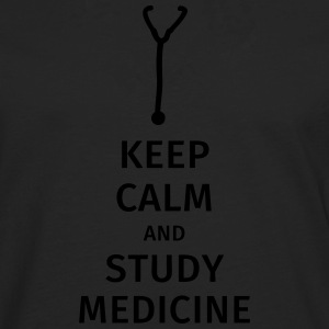 keep calm and study medicine T-Shirts - Men's Premium Longsleeve Shirt