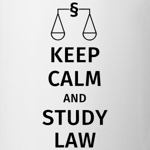 keep calm and study law T-shirts - Mugg