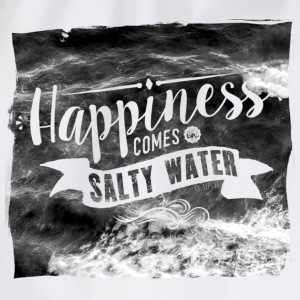 Happiness comes in salty water Tops - Turnbeutel