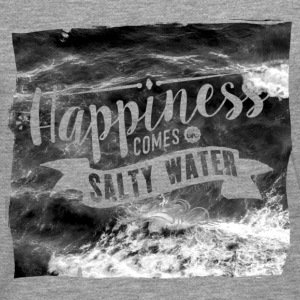 Happiness comes in salty water Tops - Männer Premium Langarmshirt