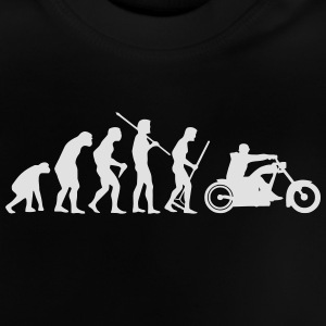 MOTORCYCLE EVOLUTION Shirts - Baby T-Shirt