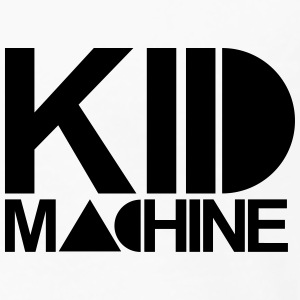 KID MACHINE BASIC CHEST LOGO TEE - Men's Premium Longsleeve Shirt