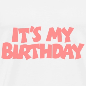 Geburtstags Baby Body It's my Birthday - Männer Premium T-Shirt