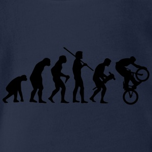 EVOLUTION MOUNTAIN BIKE Shirts - Baby bio-rompertje met korte mouwen