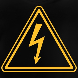 ELECTRICIAN UNDER HIGH VOLTAGE Shirts - Baby T-Shirt