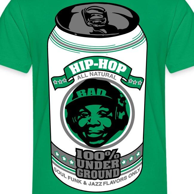 Hip Hop. Camiseta contraste hombre