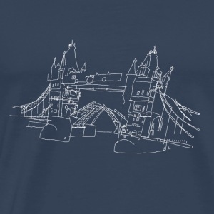 London Tower Bridge w Tank Tops - Men's Premium T-Shirt