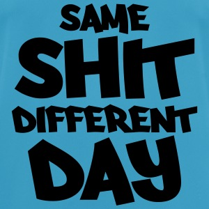 Same shit, different day Toppar - Andningsaktiv T-shirt herr