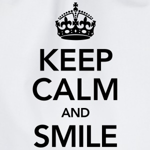 Keep Calm And Smile Pullover & Hoodies - Turnbeutel