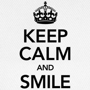 Keep Calm And Smile Bluzy - Czapka z daszkiem