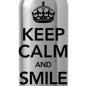 Keep Calm And Smile Felpe - Borraccia