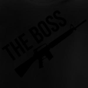 The Boss / Armée / Militaire / Arme / Guerre Skjorter - Baby-T-skjorte