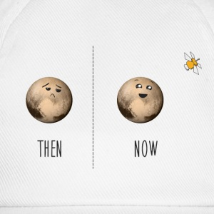 Pluto now and then T-Shirts - Baseball Cap