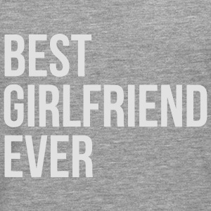 BEST GIRLFRIEND EVER Tops - Mannen Premium shirt met lange mouwen