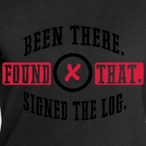 Geocaching: been there, found that, signed the log T-Shirts - Men's Sweatshirt by Stanley & Stella