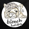 Red French Bulldog Bags & Backpacks - Backpack