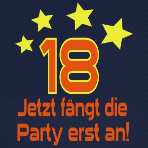18 Jahre - Party Pullover & Hoodies - Baseballkappe