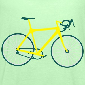 Rennrad Bicycle T-Shirt T-Shirts - Frauen Tank Top von Bella