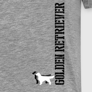 Golden Retriever Unisex Shirt - Männer Premium T-Shirt