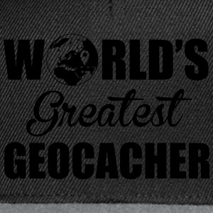 World's greatest geocacher Sportkleding - Snapback cap