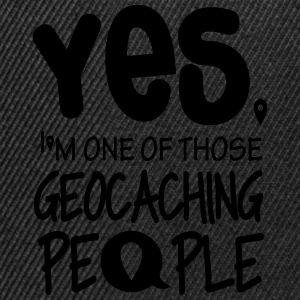 Yes. I'm one of those geocaching people Sweaters - Snapback cap