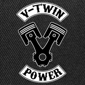 v-twin power 11 Tee shirts - Casquette snapback