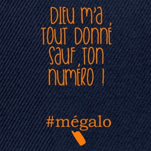 #megalo Tee shirts - Casquette snapback