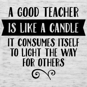 A Good Teacher Is Like A Candle... Magliette - Top da donna della marca Bella