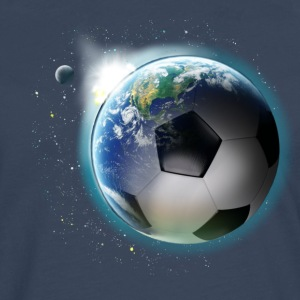 Planet football T-shirts - Herre premium T-shirt med lange ærmer