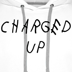Charged up T-shirts - Mannen Premium hoodie