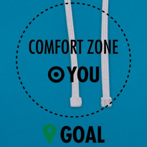 Step Out Of Your Comfort Zone Camisetas - Sudadera con capucha en contraste