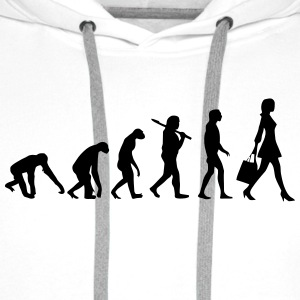 WOMEN EVOLUTION T-shirts - Herre Premium hættetrøje