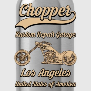 chopper repair garage 01 Tee shirts - Gourde
