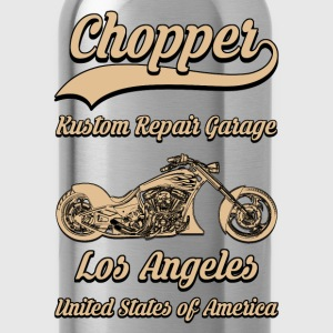 chopper repair garage 02 Tee shirts - Gourde