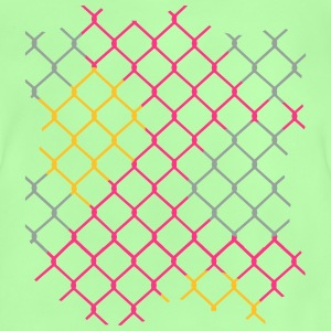 colorful chain-link fence Shirts - Baby T-Shirt