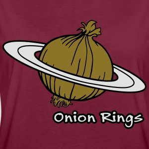 Onion Rings - The rings of onion planet Hoodies & Sweatshirts - Women's Oversize T-Shirt