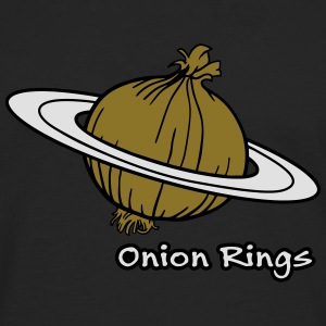 Onion Rings - The rings of onion planet Bags & Backpacks - Men's Premium Longsleeve Shirt