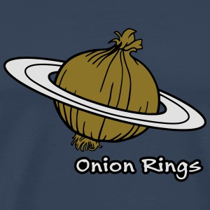Onion Rings - The rings of onion planet Other - Men's Premium T-Shirt