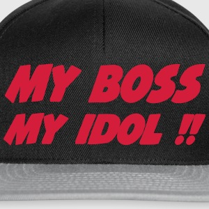 My boss My idol !! 333 T-shirts - Snapback cap