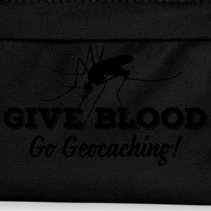 Give blood - go geocaching! Canotte - Zaino per bambini