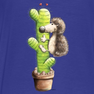 Hedgedog In Love Hoodies - Men's Premium T-Shirt