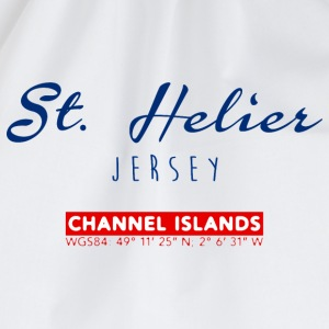 St. Helier, Channel Island T-Shirts - Drawstring Bag