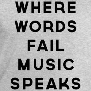 Music Speaks  Débardeurs - Sweat-shirt Homme Stanley & Stella