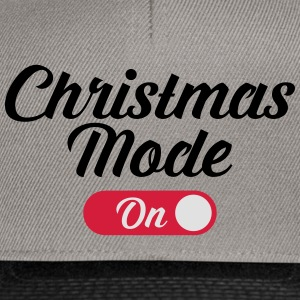 Christmas Mode (On) Magliette - Snapback Cap