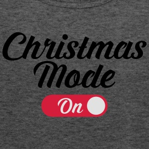 Christmas Mode (On) T-Shirts - Women's Tank Top by Bella