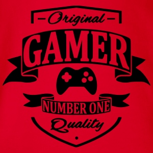 Gamer Shirts - Organic Short-sleeved Baby Bodysuit