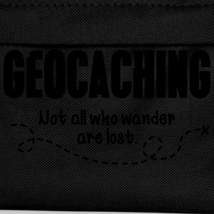 Geocaching - not all who wander are lost T-shirts - Rugzak voor kinderen
