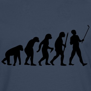 Evolution  Stick T-Shirts - Men's Premium Longsleeve Shirt