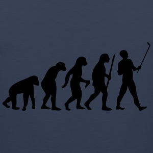 Evolution  Stick T-Shirts - Men's Premium Tank Top